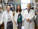 (from left) Todd Golde, M.D., Ph.D., Brenda D. Moore, Ph.D., and Diego Rincon-Limas