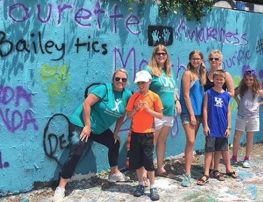 Tourette Awareness 34th St Wall Art