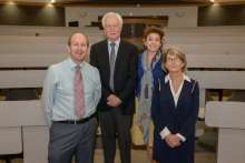 Dr. Koob with faculty