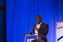 Duane Mithcel presenting at summit