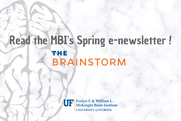 Graphic: Read the MBI's Spring Newsletter, The Brainstorm!