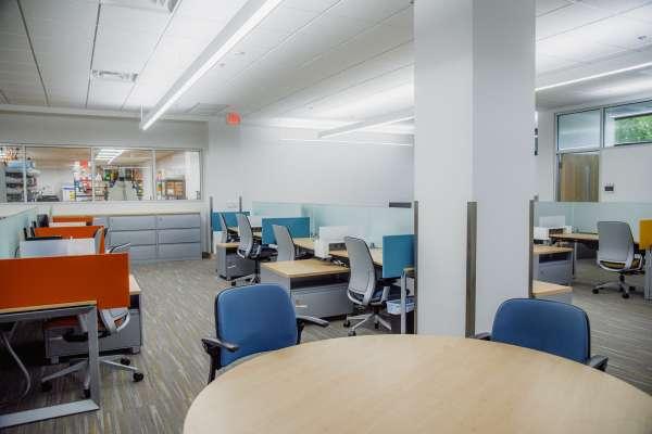 lab work space
