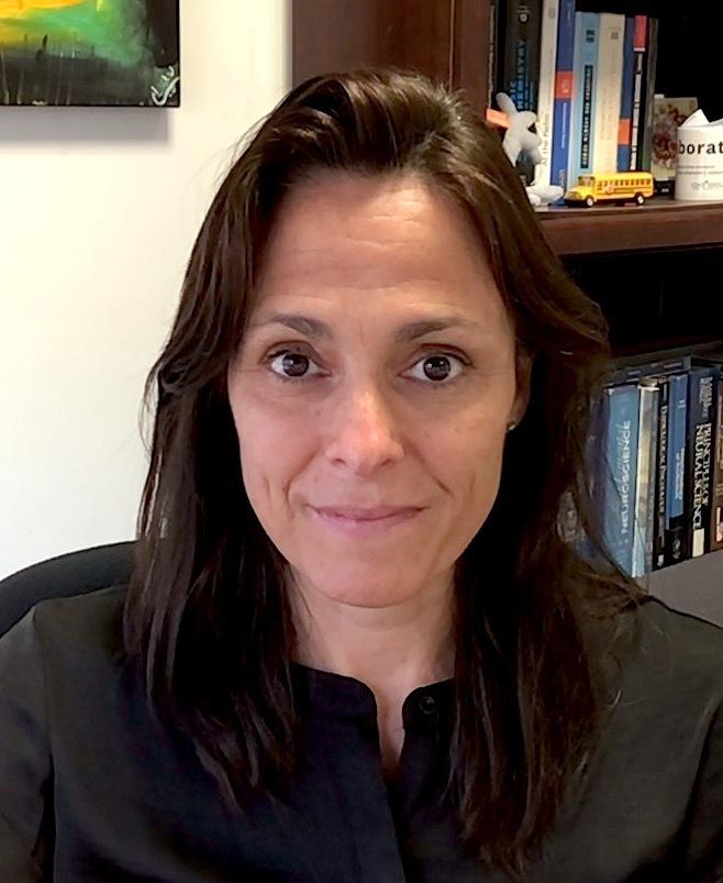 Gemma Casadesus poses in her office
