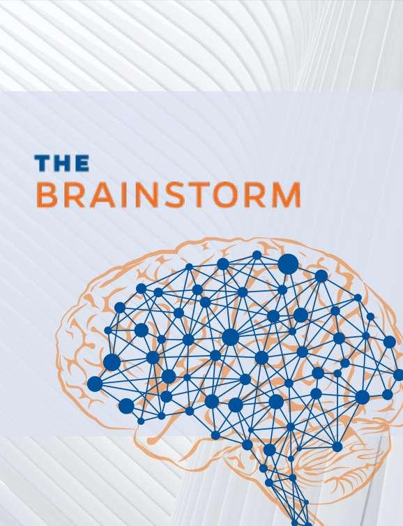 Brainstorm newsletter