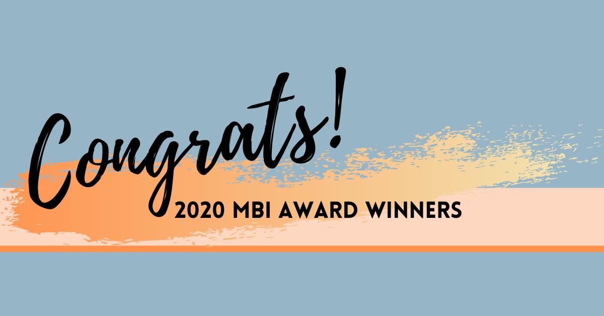 congrats M-B-I award winners