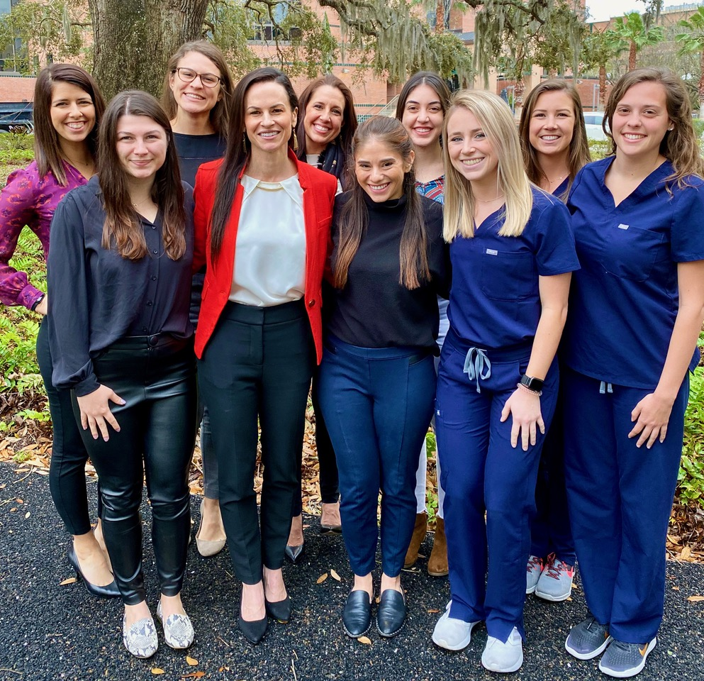 doctor plowman and her trainees